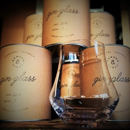 D & L Gin Glass