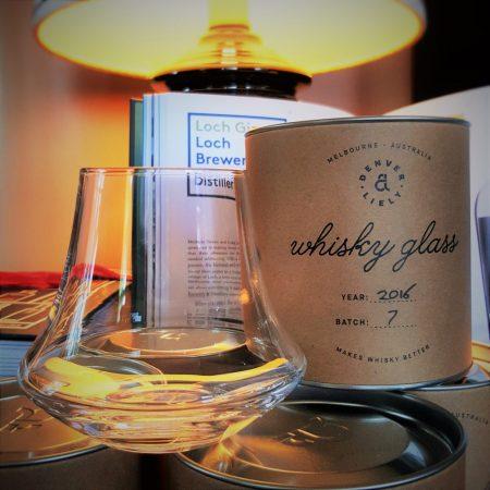 D & L Whisky Glass