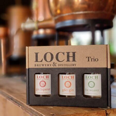 Loch Gin Trio 3 x 200ml bottles - Native