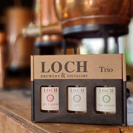 Loch Gin Trio 3 x 200ml bottles - Classic